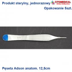 Pęseta Adson 12,5cm...