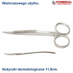 Nożyczki dermatologiczne...